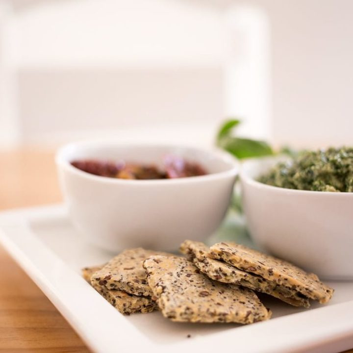 Seed Crackers (Gluten Free)