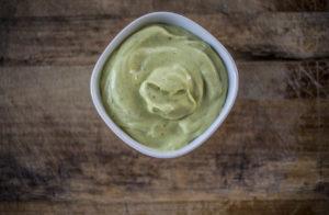 Creamy Dairy Free Avocado Sauce