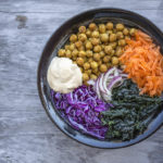 Detox Buddha Bowl with Spicy Chickpeas and Cumin Cashew Sauce – Dairy Free and Vegan