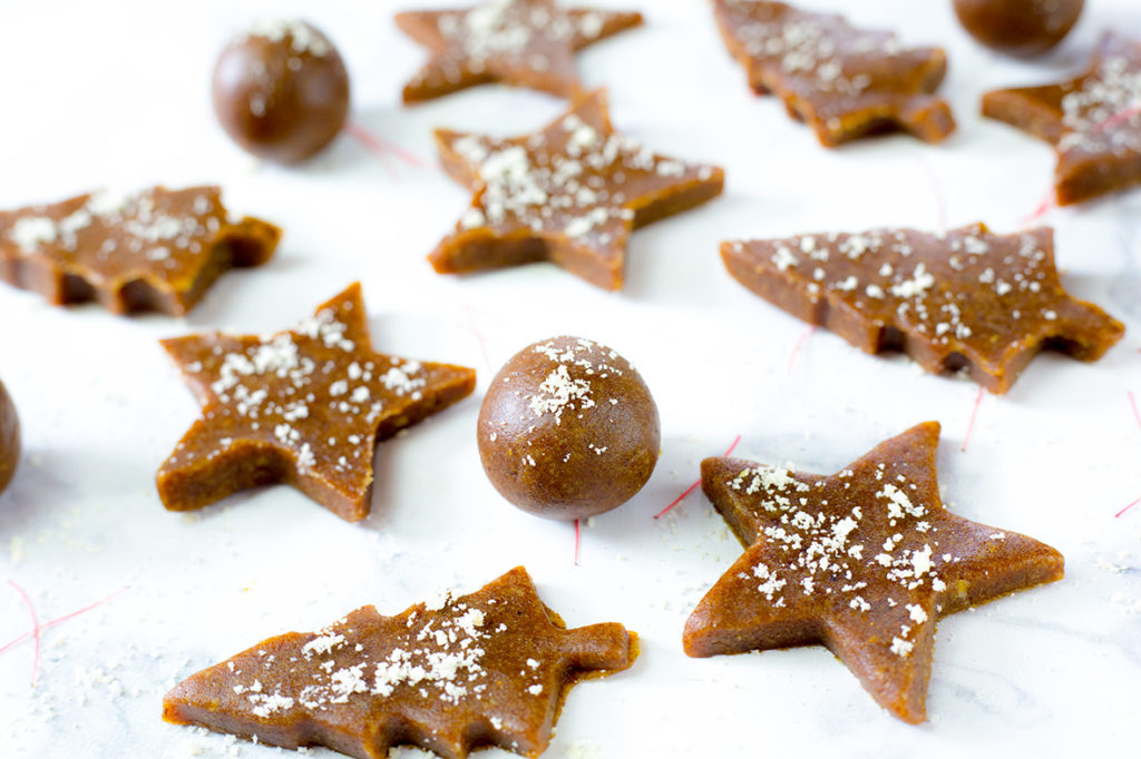 Raw GIngerbread Cookie Bites