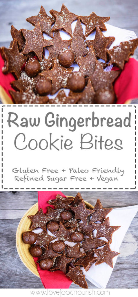 A healthy Christmas Sweet Treat that tastes so good and is so easy to make! Gluten Free, Refined Sugar Free & Vegan
