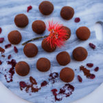 Raw Vegan Cranberry & Chocolate Truffles – Gluten Free & Refined Sugar Free