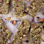 Paleo Nut Bar with Goji Berries – Refined Sugar & Honey Free