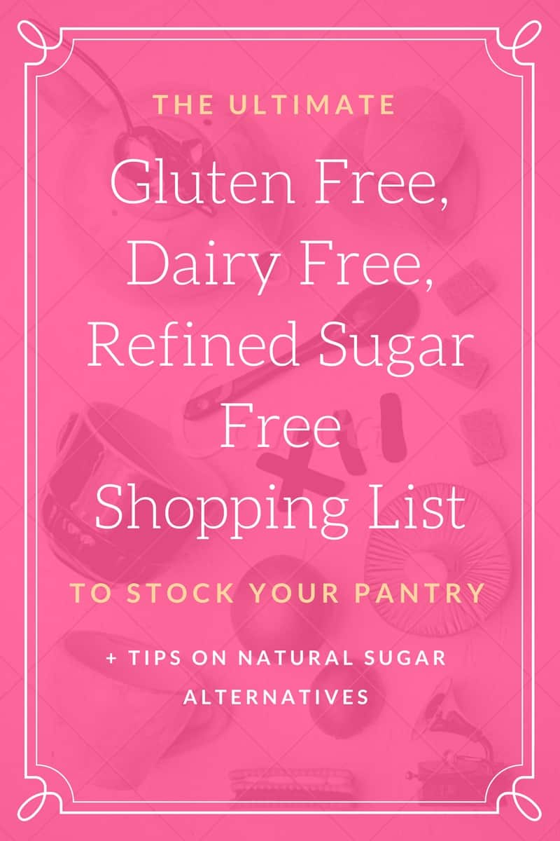 Subscribe To Recieve Your Free Shopping List!