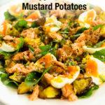 Smoked Salmon Salad Pinterest Image