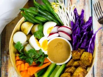 Gado Gado Indonesian Salad