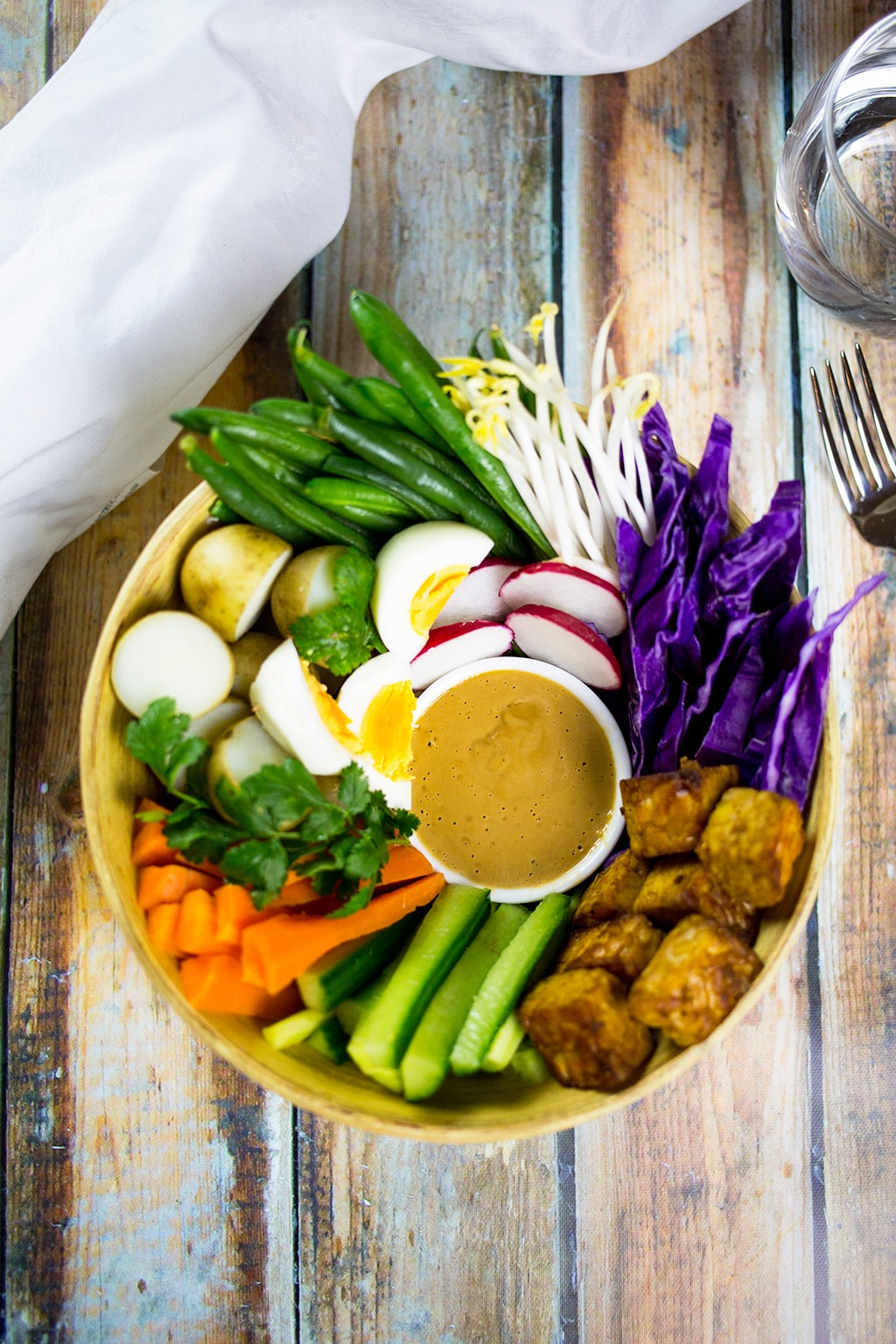 Gado Gado Indonesian Salad