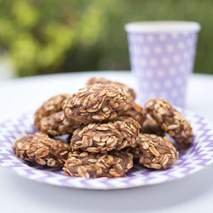 Banana, Pear and Oat Toddler Cookies