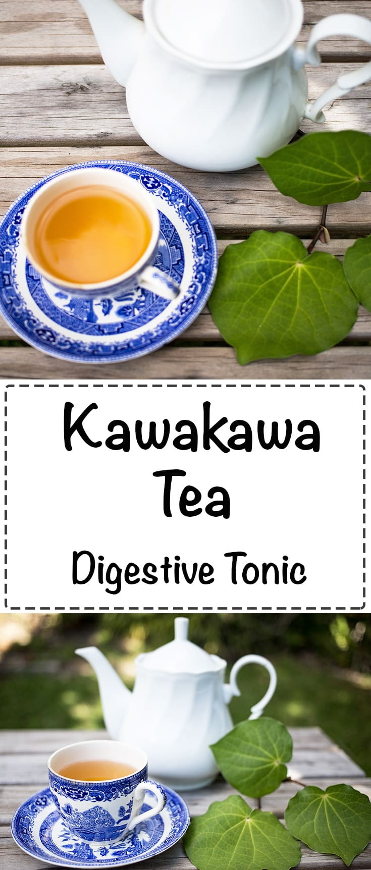 Kawakawa Tea - A refreshing drink and digestive tonic that excellent for overall health and wellbeing.