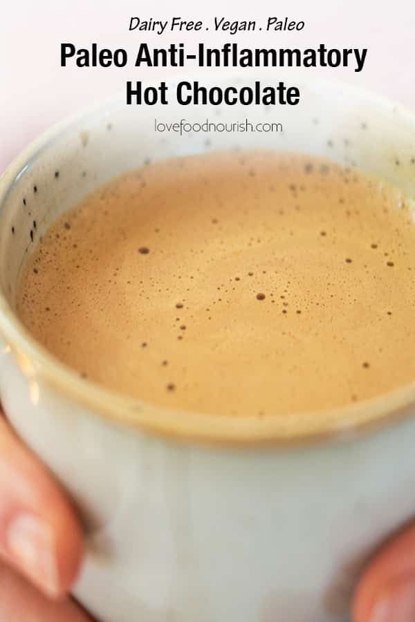 Paleo Hot Chocloate Pinterest Image