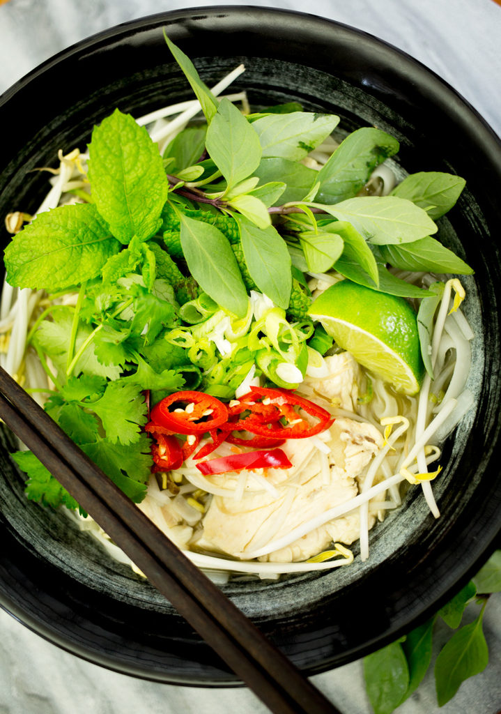 Chicken Pho Recipe Vietnamese Chicken Noodle Soup Love Food Nourish