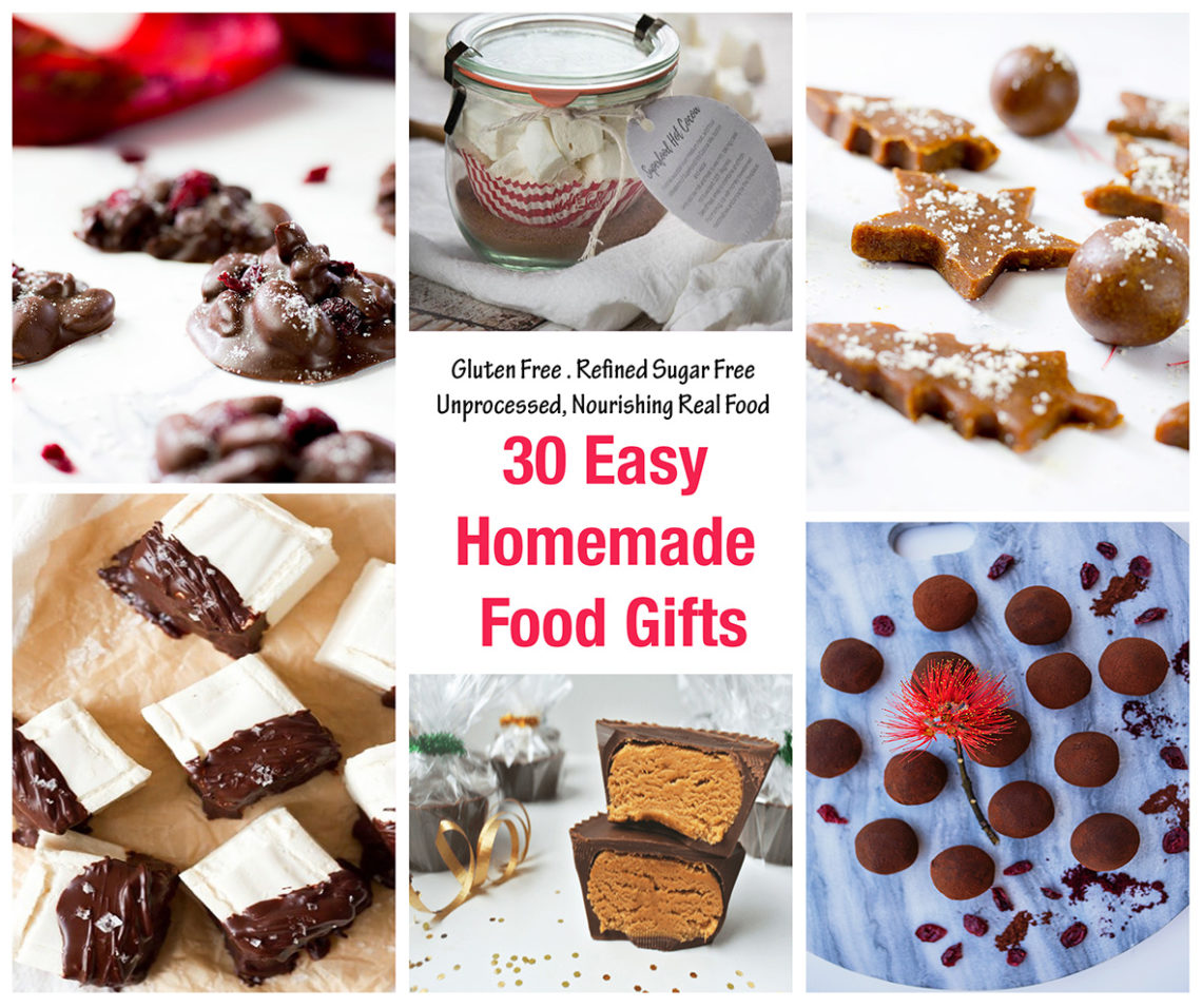 30 Homemade Food Gifts - Easy to Make! - Love Food Nourish