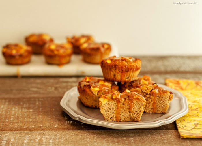 Caramel Apple Muffins Low Carb