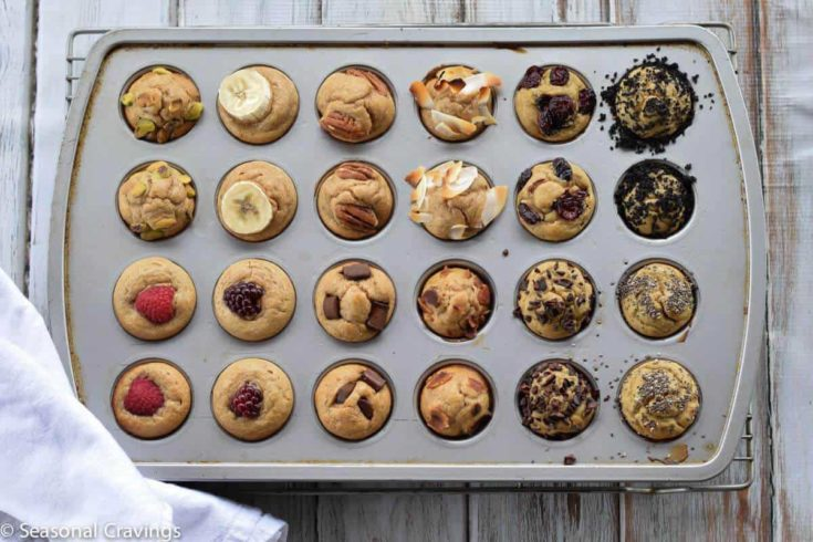 Five Ingredient Blender Muffins